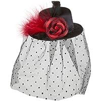 Widmann 9399D - Cappellino con velo, colore: Rosa