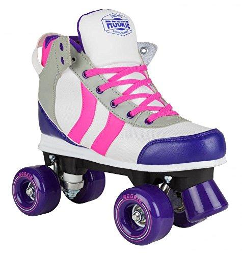 Rookie Deluxe Rollerskate RKE-SKA-25xx Unisex-Rollschuhe Pink/Grey/Purple Gr. 37
