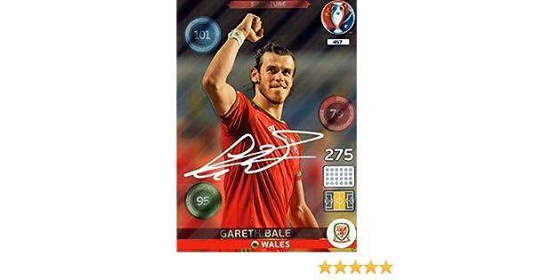 fbfb2e159 EURO 2016 GARETH BALE SIGNATURE CARD #457 PANINI ADRENALYN XL - WALES REAL  MADRID EURO: Amazon.co.uk: Toys & Games