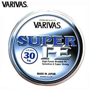 Varivas - Tresse De Peche Super Pe 270 M Modèle : Resistance 30 Kg / Couleur Jaune