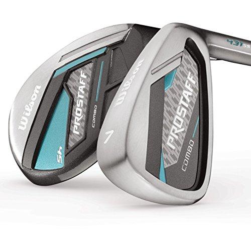 Wilson ProStaff Damen Combo Golf Komplettset Eisen 7-SW, Hybrid 5 & 6