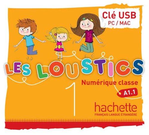 Les Loustics 1 : Manuel numérique enseignant (clé USB)