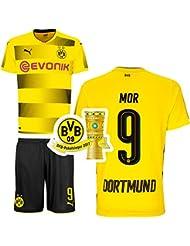 BVB Borussia Dortmund 3er Set 2017 2018 inkl. BVB Pokalsieger PIN