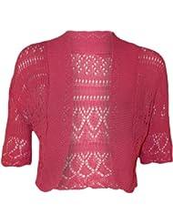 MyMixTrendz-Crochet pour tricot Midi Boutique Boléro à manches