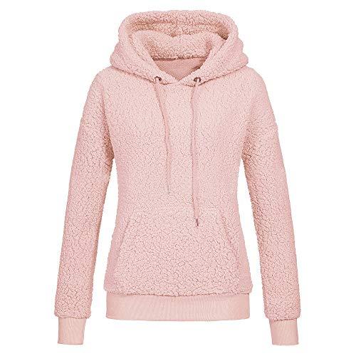 Yazidan Damen Winter Lange Ärmel Bluse Solide Outfits Patchwork oben O Hals Sweatshirt Beiläufig...