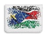 South Sudan Africa Juba Country Series Nationality Flag Nice To Custodia per carte di credito tascabile
