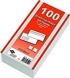 200 (2x 100) Briefumschläge Din lang weiss mit Fenster