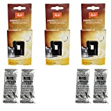 3er Pack Melitta Perfect Clean Kaffeevollautomaten Inhalt 4 Tabs à 1,8g - 1500791 - -