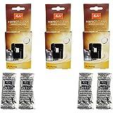 3 Pack Melitta Perfect Clean Café automáticas neta 4 Tabs à 1,8 g – 1500791 de