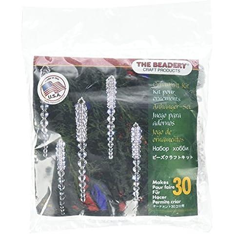 Vacanza in rilievo ornamento Kit-frizzante ghiaccioli 3-3/4