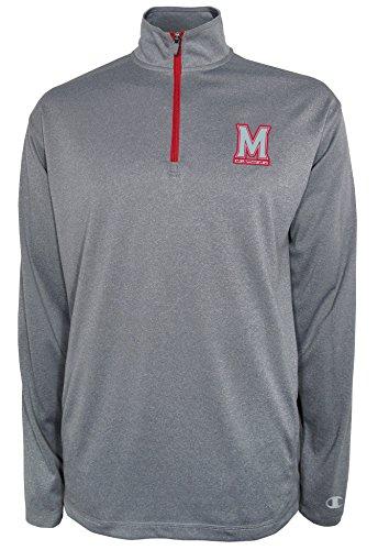 Champion NCAA Agility Quarter Zip Pullover