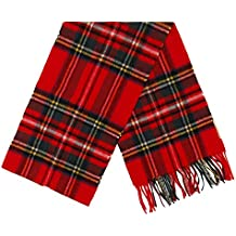 Barbour Tartan Lambswool Scarf Royal-Bufandas