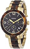 Fossil Women's Quartz Watch Natalie Bicolor JR1382 with Metal Strap