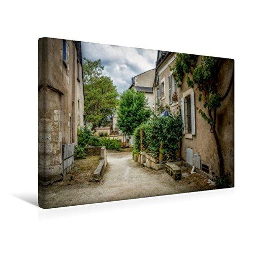 Premium Textil-Leinwand 45 cm x 30 cm quer, Kleine Straße in der Altstadt | Wandbild, Bild auf Keilrahmen, Fertigbild auf echter Leinwand, Leinwanddruck (CALVENDO Natur)