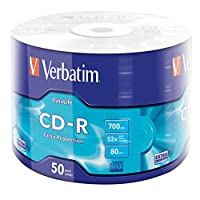 Verbatim 43787 Cd Extra Protection 52X 700Mb, 50'Li