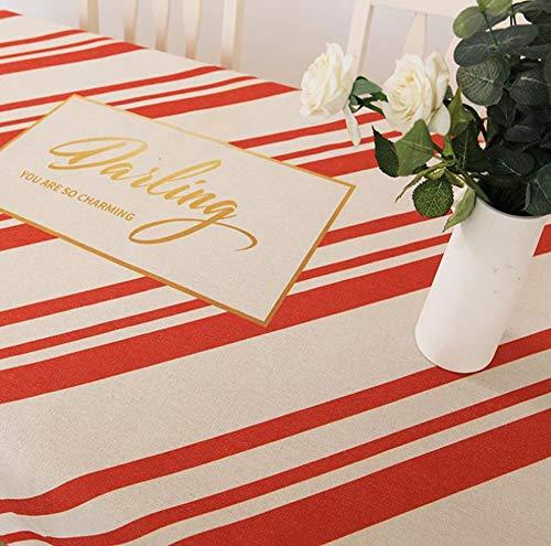 und Tischdecke Wohnzimmer Esszimmer Tischdecke Staubschutz Tuch (Color : B, Size : 140 * 140cm) ()