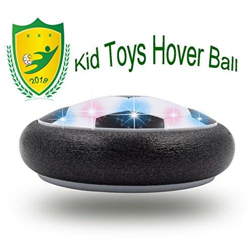 JRD&BS WINL Geschenke FÜR 3-12 Jahre Alte Jungen, Hover Fußball Spielzeug FÜR 4-8 Jahre Alten Jungen Geschenke FÜR Jungen Mädchen (Schwarz 02)
