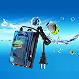 #3: RS-628 A Ultra Quiet Air Pump for Aquarium with 2 Air Outlets That Has High Efficient Energy and Adjustable Air Flow Facility and Produces Oxygen Silent Aquarium Air Pump for Fish Tanks