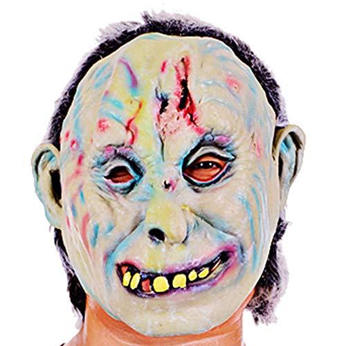Masqurade Kostüm - Halloween Maske (Zombie Maske) Stabil Bequem