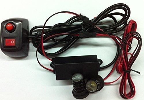 Auto Car LED ultra fine avertissement 6modes flash 12V 2W de danger de sécurité d'urgence de la torche électrique Grille Du précipité de la plate-forme Strobe Light Lamp Bar kM338 personalizzare