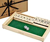 Shut The Box - 12 Numbers - Jaques von London
