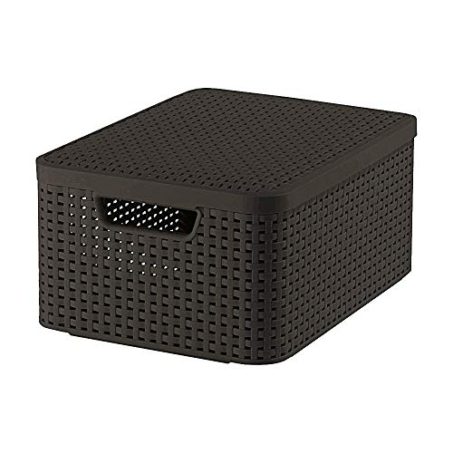 CURVER Aufbewahrungsbox, Schokoladenbraun, 39.3 x 29.3 x 18.7 cm, 3