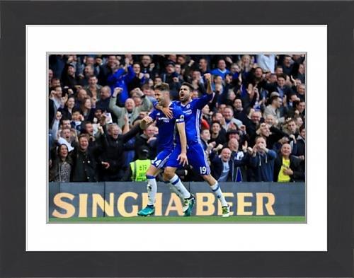 framed-print-of-chelsea-v-manchester-united-premier-league-stamford-bridge