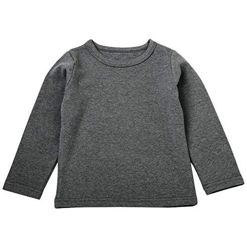 MRULIC Baby Langarmshirt Mädchen Jungen Langarm Crops Tops Viola Slim Basic Top ()