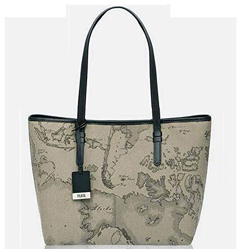 Shopping Bag médias Alviero Martini 1 ^ Classe | Geo Tortora | Nouvelle base | CD00461300590-TORTORA