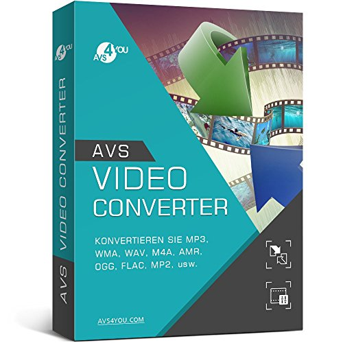 Avs Video Converter (AVS Video Converter (Product keycard ohne Datenträger))