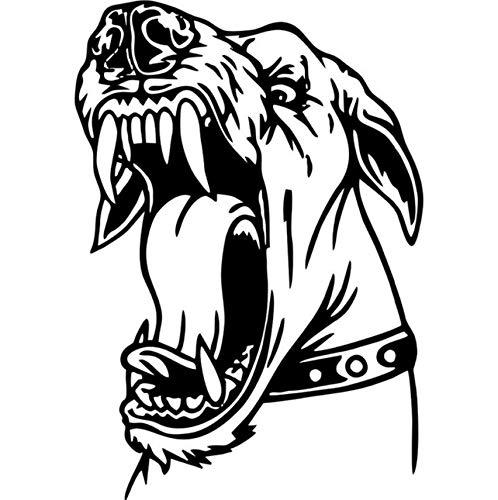 Schützen Hund Wandbild Poster im Auto Laptop Aufkleber Motorrad Kühlschrank Skateboard Hund Aufkleber Auto Zubehör 57x40cm (Skateboards Für Hunde)