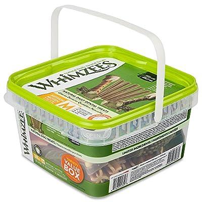 WHIMZEES Natural Grain Free Dental Dog Treats, Variety Pack