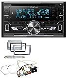 Kenwood DPX-5100BT Aux CD 2DIN MP3 Bluetooth USB Autoradio für Opel Antara Astra H Zafira B Charcoal