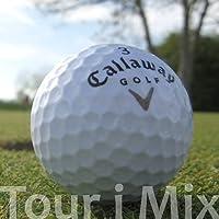 25 CALLAWAY TOUR I MIX PELOTAS DE GOLF RECUPERADAS / LAKE BALLS - CALIDAD AAAA / AAA (PEARL / A GRADE)