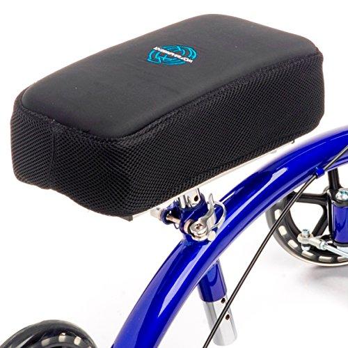 KneeRover Knie Wanderer Kniepolsterbezug - mit Memory-Schaum für maximalen Komfort