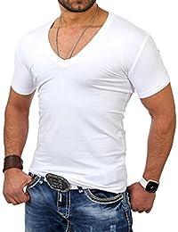Reslad Herren V-Neck T-Shirt RS-5052