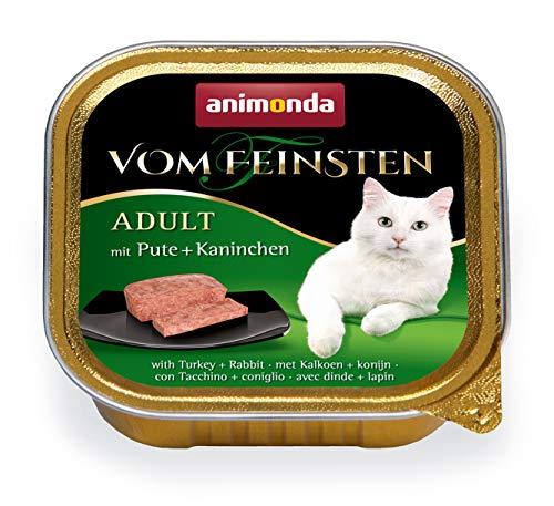 animonda Vom Feinsten Adult Katzenfutter, Nassfutter für ausgewachsene Katzen, verschiedene Geschmacksrichtungen