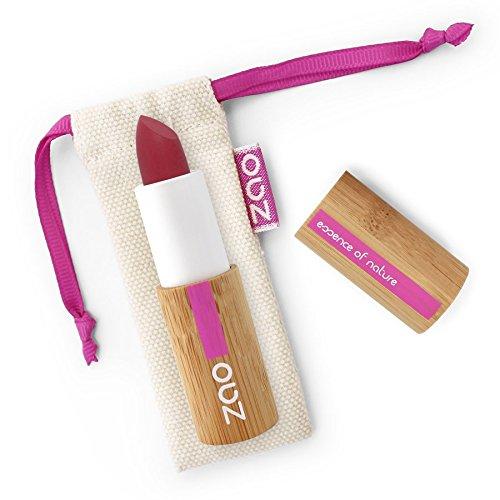 Zao Soft Touch Lipstick 436Color Rojo Oscuro Mate Lippenstift rellenable (bio, Vegan) 101436