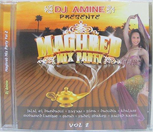 Orientalische Musik CD - DJ Amine - Maghreb Mix Party Vol 2