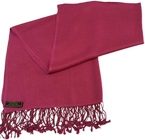 cj-apparel-fuschia-pink-solid-colour-design-nepalese-shawl-pashmina-scarf-seconds-new