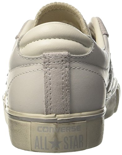 Converse Pro Leather Vulc Ox, Sneakers Mixte Adulte Blanc (White/mouse/turtledove)