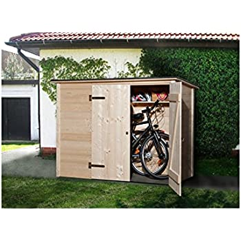 tepro fahrradbox metall f r vier fahrr der abschlie bare fahrradgarage bike box garten. Black Bedroom Furniture Sets. Home Design Ideas