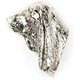 BASSET HOUND Made in U.K Artistic Style Dog Clutch Lapel Pin Collection by DOG ARTS JP