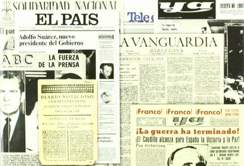 Historia grafica de la prensa diaria esp: (1758 - 1976) (ENSAYO Y BIOGRAFIA) por JUAN FERMIN VILCHEZ DE ARRIBAS