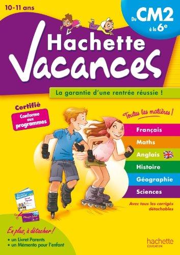 Hachette Vacances - Du CM2 à la 6e