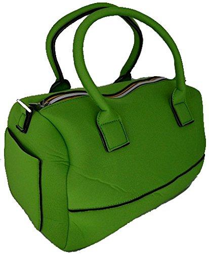 Borsa Shopping Donna K-Way Bag Shopping Woman K-Sea Handbag K7804-Verde