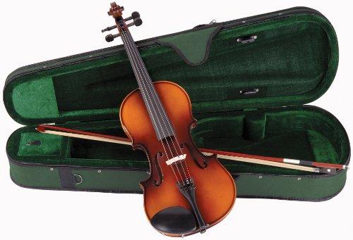 Kinsman ACV015 Antoni Debut Étui pour violon Taille 1/4 Noir/Vert