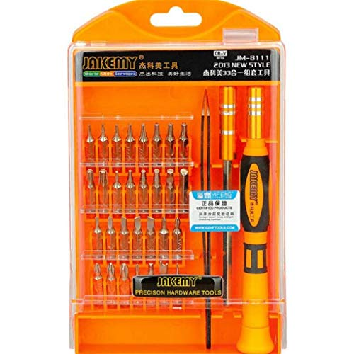 Yongse JAKEMY JM-8111 33 en 1 tournevis Universal Télécommunications Maintenance Repair Tools Suit Set