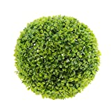 Sharplace Künstliche Pflanzen Ball Simulierte Pflanze Dekorative Bonsai Kunststoff Flower Ball für Home Decoration - Grün Milan, 27cm