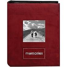 Pioneer 2Up Memories 4 x 6 álbum de fotos-Raspberry